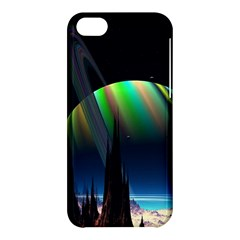 Planets In Space Stars Apple Iphone 5c Hardshell Case