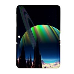 Planets In Space Stars Samsung Galaxy Tab 2 (10.1 ) P5100 Hardshell Case