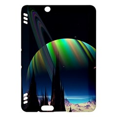 Planets In Space Stars Kindle Fire Hdx Hardshell Case