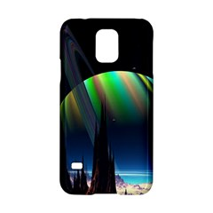 Planets In Space Stars Samsung Galaxy S5 Hardshell Case