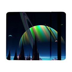 Planets In Space Stars Samsung Galaxy Tab Pro 8 4  Flip Case