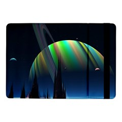 Planets In Space Stars Samsung Galaxy Tab Pro 10 1  Flip Case
