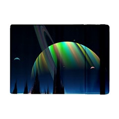 Planets In Space Stars Ipad Mini 2 Flip Cases