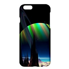 Planets In Space Stars Apple Iphone 6 Plus/6s Plus Hardshell Case