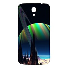 Planets In Space Stars Samsung Galaxy Mega I9200 Hardshell Back Case