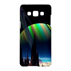 Planets In Space Stars Samsung Galaxy A5 Hardshell Case