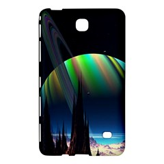 Planets In Space Stars Samsung Galaxy Tab 4 (7 ) Hardshell Case