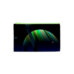 Planets In Space Stars Cosmetic Bag (xs)
