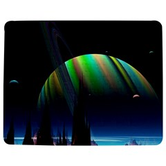 Planets In Space Stars Jigsaw Puzzle Photo Stand (Rectangular)