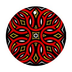 Traditional Art Pattern Ornament (round)
