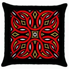 Traditional Art Pattern Throw Pillow Case (black)
