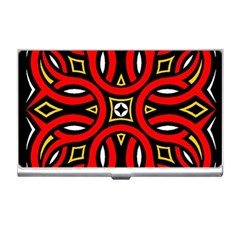 Traditional Art Pattern Business Card Holders