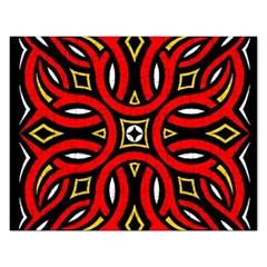 Traditional Art Pattern Rectangular Jigsaw Puzzl