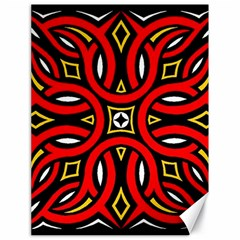 Traditional Art Pattern Canvas 18  X 24