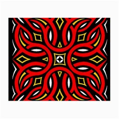 Traditional Art Pattern Small Glasses Cloth (2 Side)