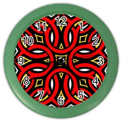Traditional Art Pattern Color Wall Clocks
