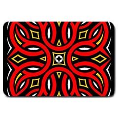 Traditional Art Pattern Large Doormat
