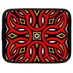 Traditional Art Pattern Netbook Case (large)