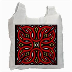 Traditional Art Pattern Recycle Bag (two Side)