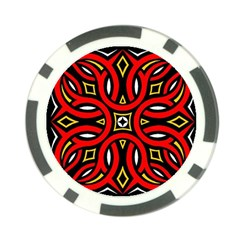 Traditional Art Pattern Poker Chip Card Guard (10 Pack)