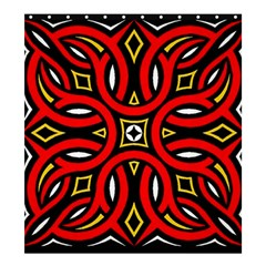 Traditional Art Pattern Shower Curtain 66  X 72  (large)