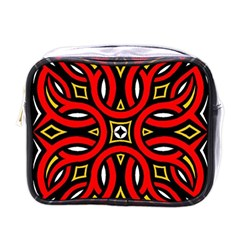 Traditional Art Pattern Mini Toiletries Bags