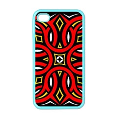 Traditional Art Pattern Apple iPhone 4 Case (Color)