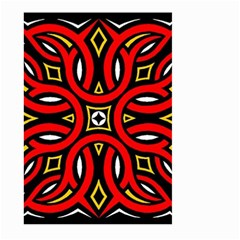 Traditional Art Pattern Large Garden Flag (two Sides)