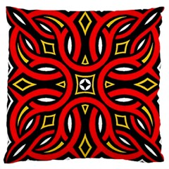 Traditional Art Pattern Large Cushion Case (one Side)