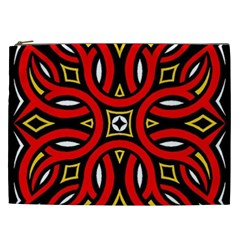 Traditional Art Pattern Cosmetic Bag (xxl)