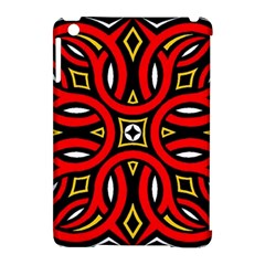 Traditional Art Pattern Apple iPad Mini Hardshell Case (Compatible with Smart Cover)