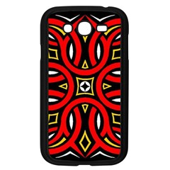 Traditional Art Pattern Samsung Galaxy Grand Duos I9082 Case (black)