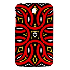 Traditional Art Pattern Samsung Galaxy Tab 3 (7 ) P3200 Hardshell Case