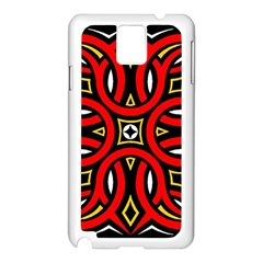 Traditional Art Pattern Samsung Galaxy Note 3 N9005 Case (white)