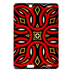 Traditional Art Pattern Amazon Kindle Fire Hd (2013) Hardshell Case