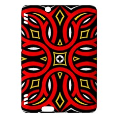Traditional Art Pattern Kindle Fire Hdx Hardshell Case