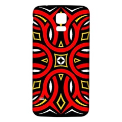 Traditional Art Pattern Samsung Galaxy S5 Back Case (white)