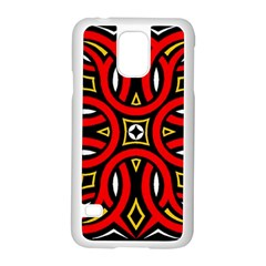 Traditional Art Pattern Samsung Galaxy S5 Case (white)