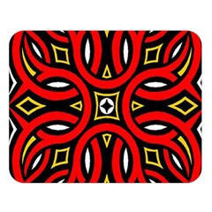 Traditional Art Pattern Double Sided Flano Blanket (large)