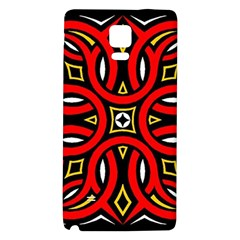 Traditional Art Pattern Galaxy Note 4 Back Case