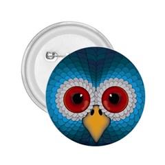 Bird Eyes Abstract 2 25  Buttons