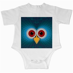 Bird Eyes Abstract Infant Creepers