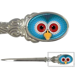 Bird Eyes Abstract Letter Openers