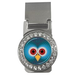 Bird Eyes Abstract Money Clips (cz)