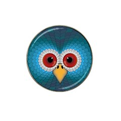 Bird Eyes Abstract Hat Clip Ball Marker (10 Pack)