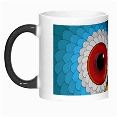 Bird Eyes Abstract Morph Mugs