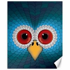 Bird Eyes Abstract Canvas 16  X 20