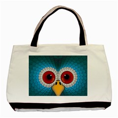 Bird Eyes Abstract Basic Tote Bag (two Sides)