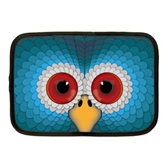 Bird Eyes Abstract Netbook Case (medium)