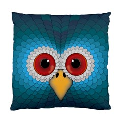 Bird Eyes Abstract Standard Cushion Case (two Sides)